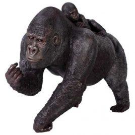 Der Affe mit Baby