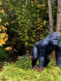 Gorilla 130cm Fiberglas