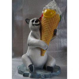 Der Bär mit Eis