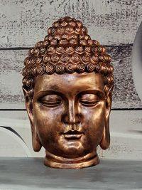 gartenfantasy buddha kopf dekofiguren geschenkideen kunstharz