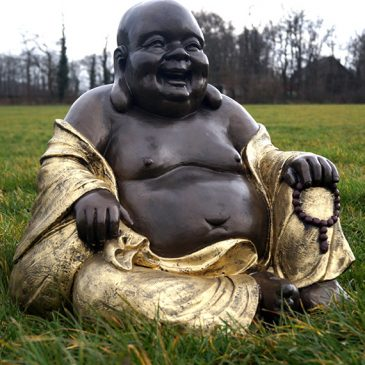 Der fröhliche Buddha