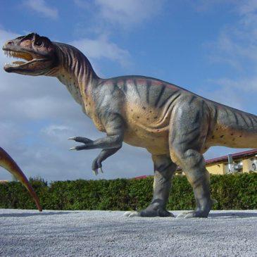 Der Allosaurus Dino