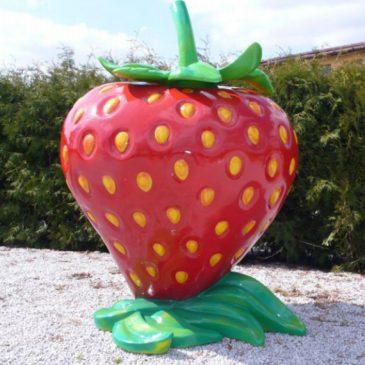 Die süße Erdbeere