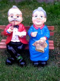 oma und opa garten figuren gartenfantasy