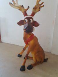 rentier weihnachten figuren gartenfiguren gartenfantasy