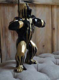 gorilla polygonal dekofigur maskenpflicht